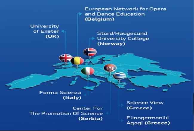 Consortium CREATIT Implementing Creative Strategies Into - Norway universities map